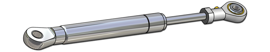 Gas spring - Stainless steel